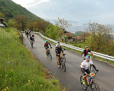 Sponsoren-Biketour im August'15